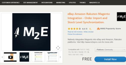 Anleitung zum M2E Pro Modul für Magento