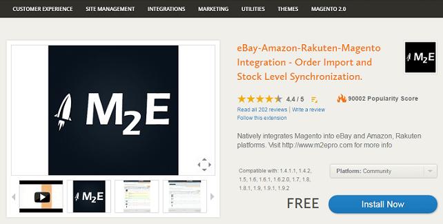M2E Pro Modul für Magento